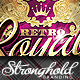 Retro Royal Club Flyer Template - GraphicRiver Item for Sale