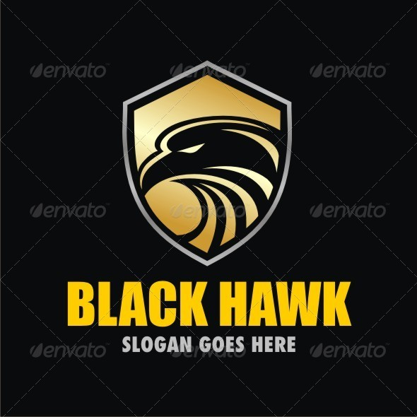 Black Hawk - Logo Templates