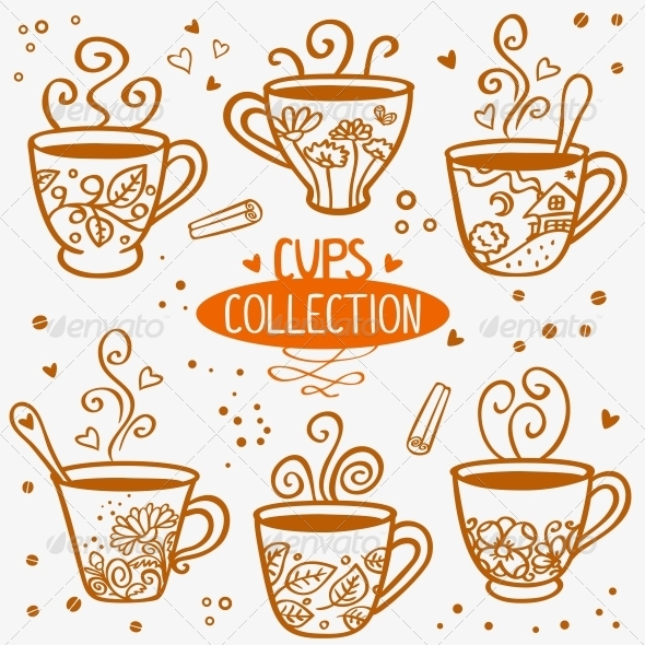 Cups Collection - Miscellaneous Vectors