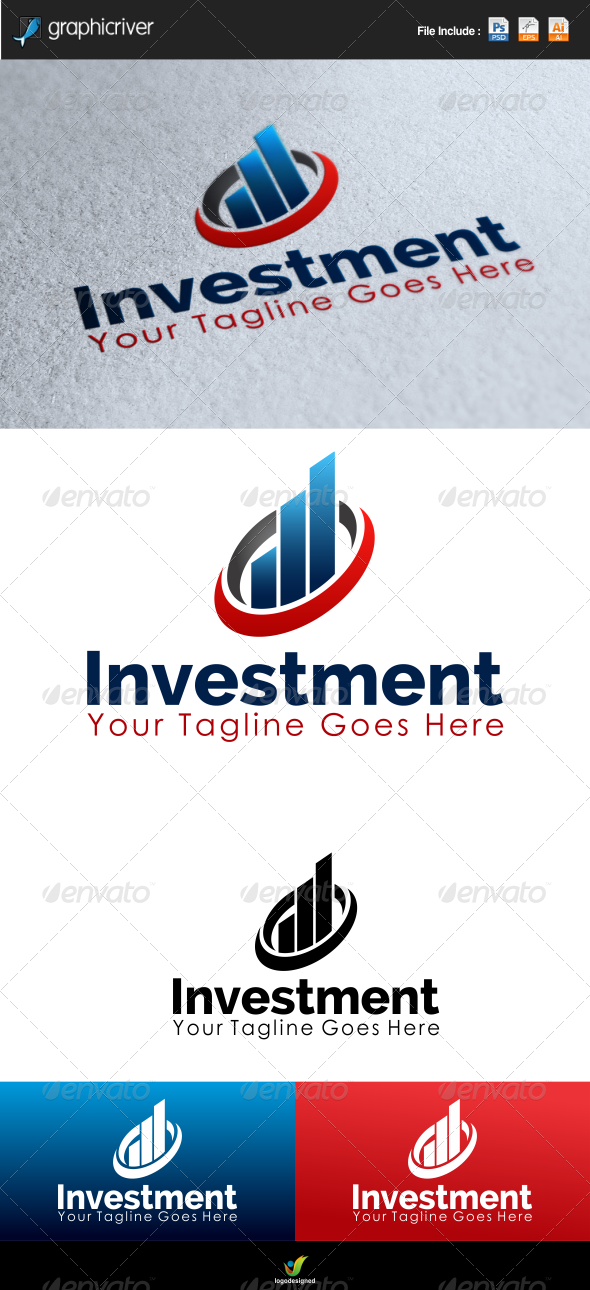 Investment Logo Template - Symbols Logo Templates