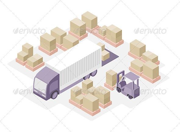 Warehouse Distribution Center - Business Conceptual