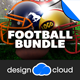 Football Flyer Template Bundle