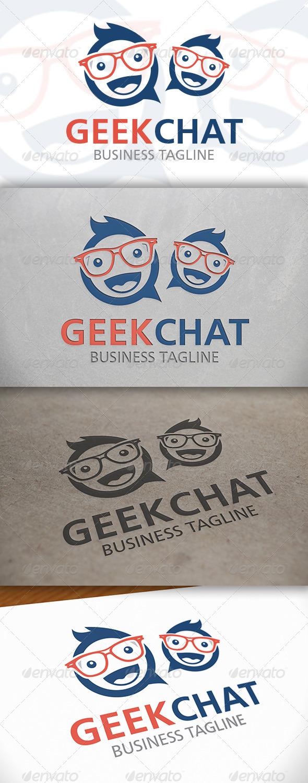 Geek Chat Logo - Humans Logo Templates