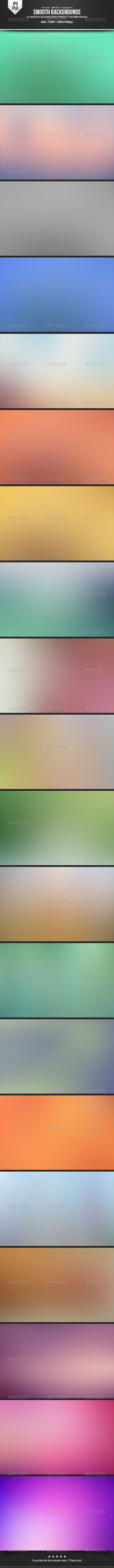 Smooth Backgrounds - Abstract Backgrounds