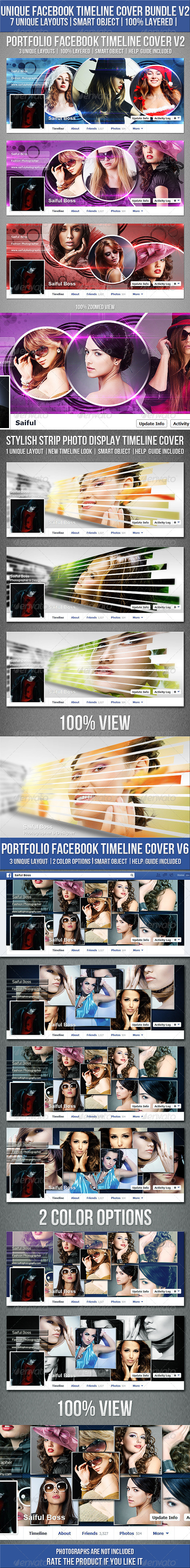 Facebook Timeline Cover Bundle V2 - Facebook Timeline Covers Social Media