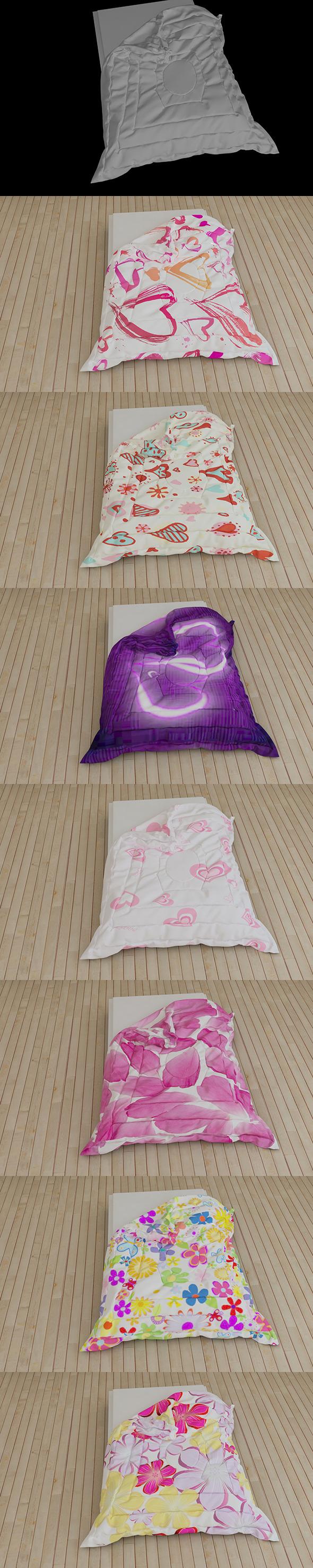 Comforter - 3DOcean Item for Sale