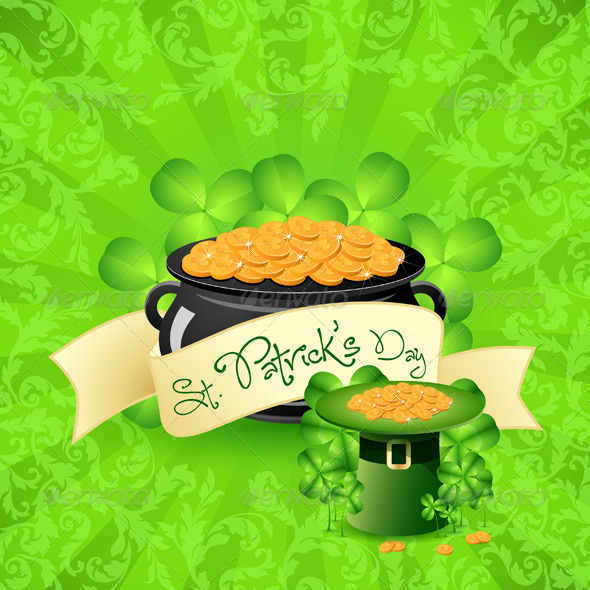 St. Patricks Day Background - Seasons/Holidays Conceptual