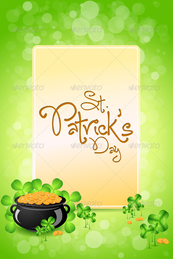 Saint Patricks Day Card - Seasons/Holidays Conceptual