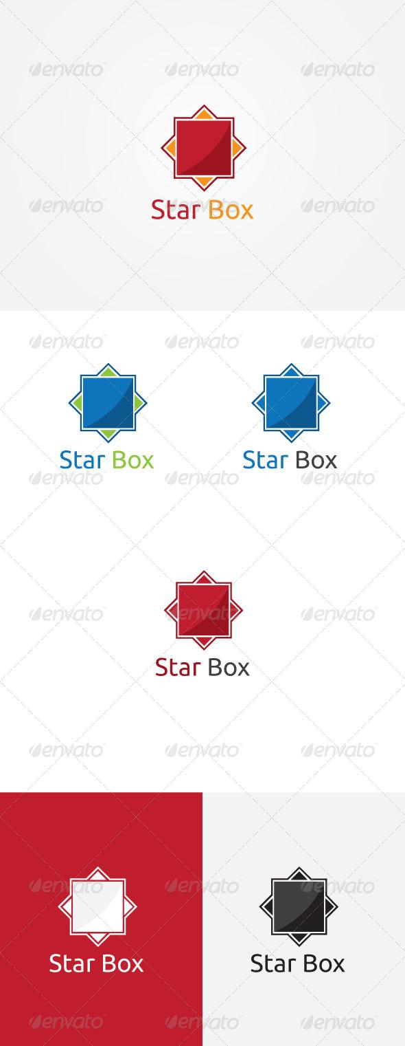 Star Box Logo - Symbols Logo Templates