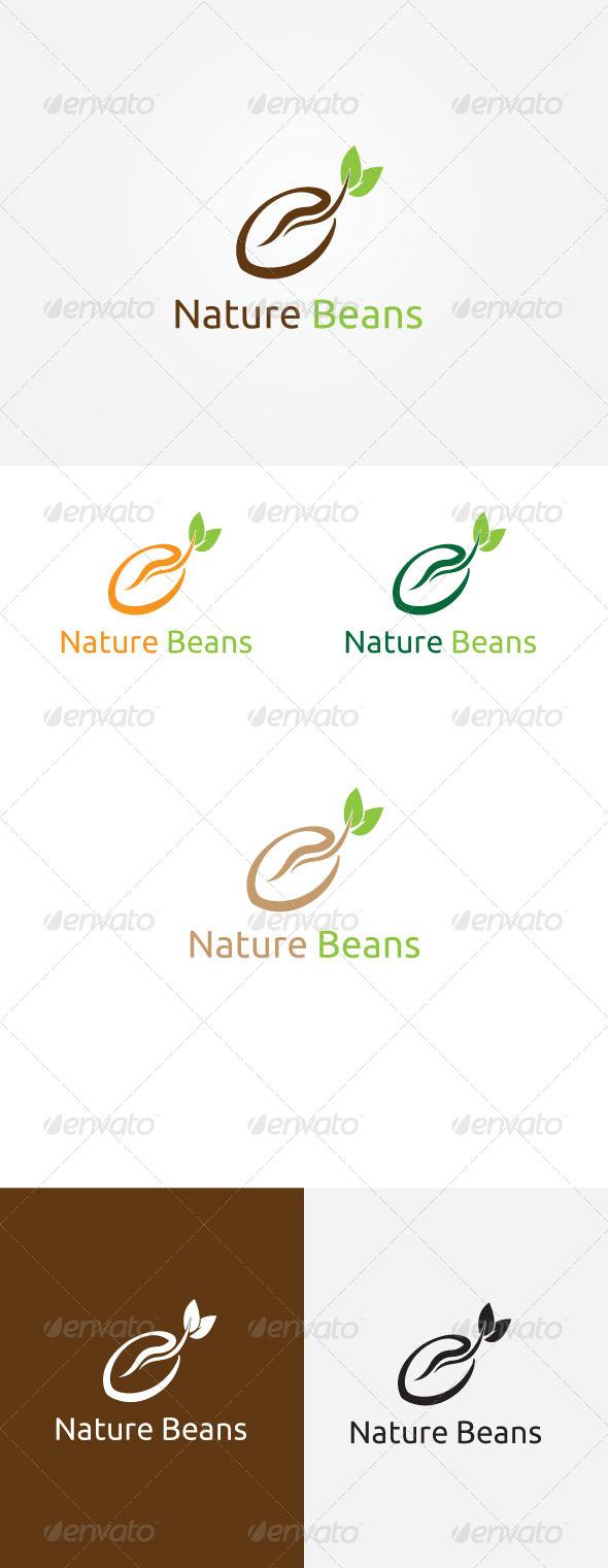 Nature Beans Logo - Symbols Logo Templates
