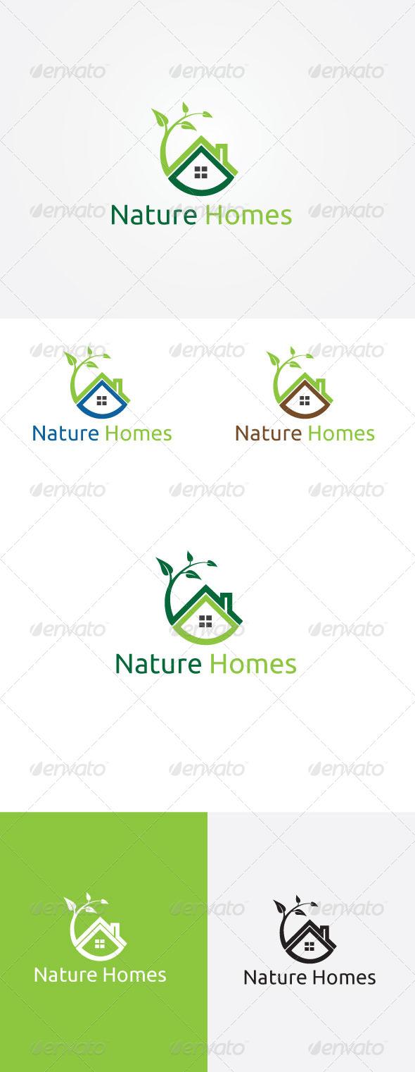 Nature House Logo - Symbols Logo Templates