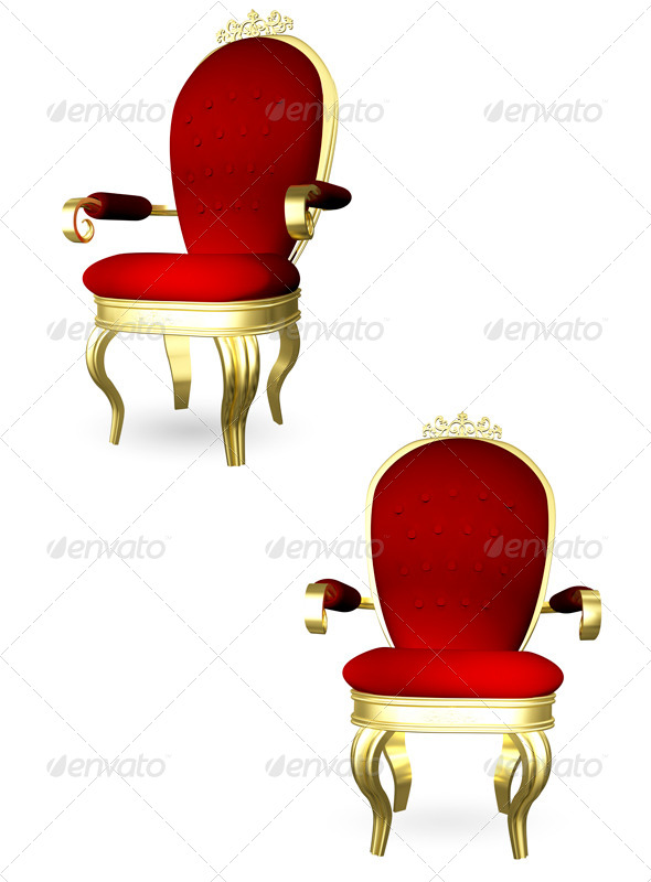 Throne - Objects 3D Renders