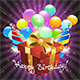 Birthday Greeting Card Design. - GraphicRiver Item for Sale