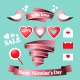Valentine's Day Elements - GraphicRiver Item for Sale