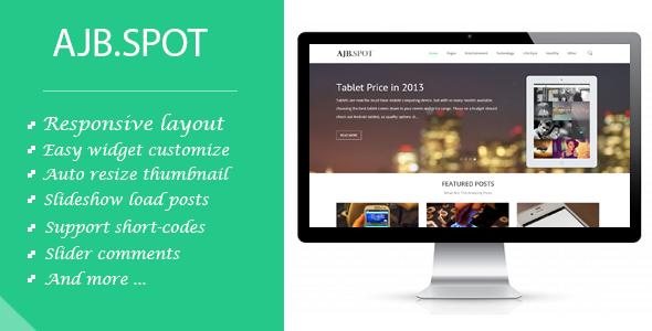 Ajbspot | Responsive MultiPurpose Blogger Template - Blogger Blogging