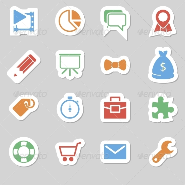 Seo Icons as Labes Vol 2 - Technology Icons
