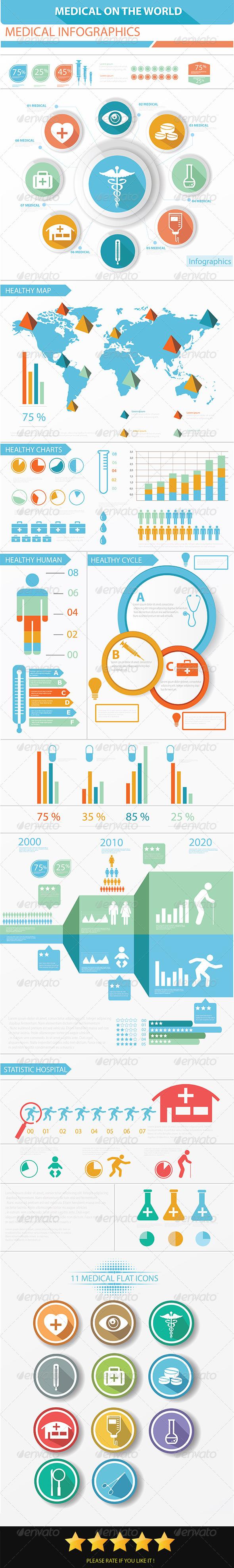 Medical Infographics Elements - Infographics