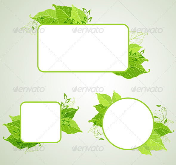 Green Ecology Banners - Flowers & Plants Nature
