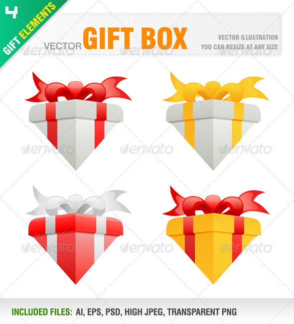 Gift Box - Man-made Objects Objects