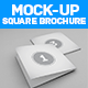 Mockup Square Brochure - GraphicRiver Item for Sale