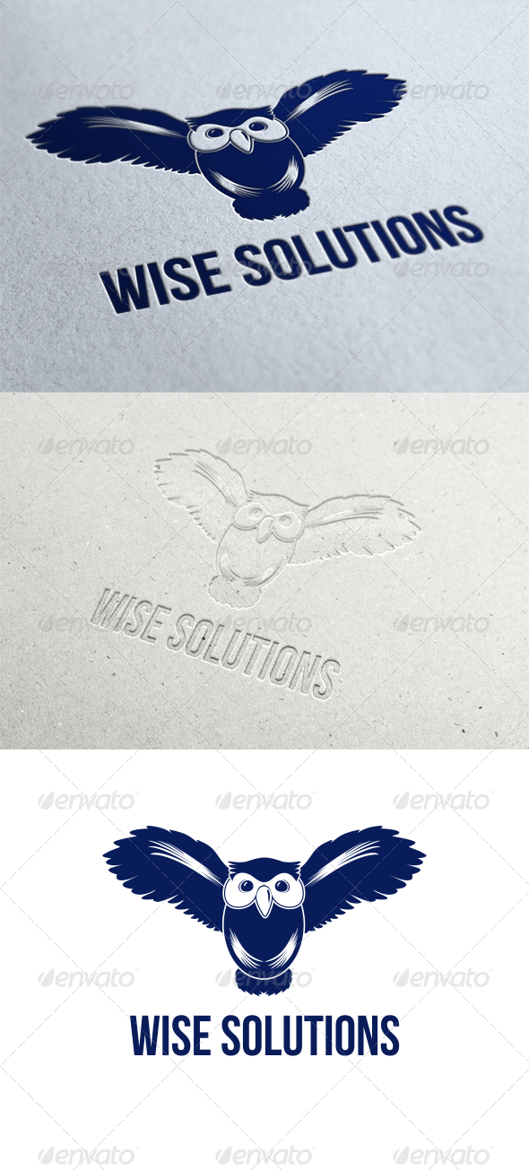 Wise Solutions Logo Template - Animals Logo Templates