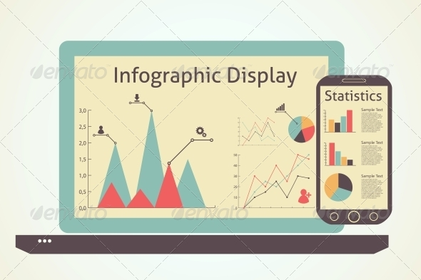 Infographics Devices - Computers Technology
