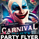 Carnival n Mardi Grass Party Flyer - GraphicRiver Item for Sale