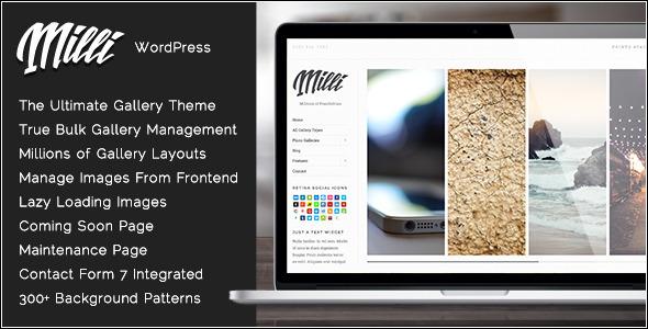 16+ WordPress Gallery Themes 2019 15