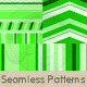 Green Lines And Stripes Pattern Set - GraphicRiver Item for Sale