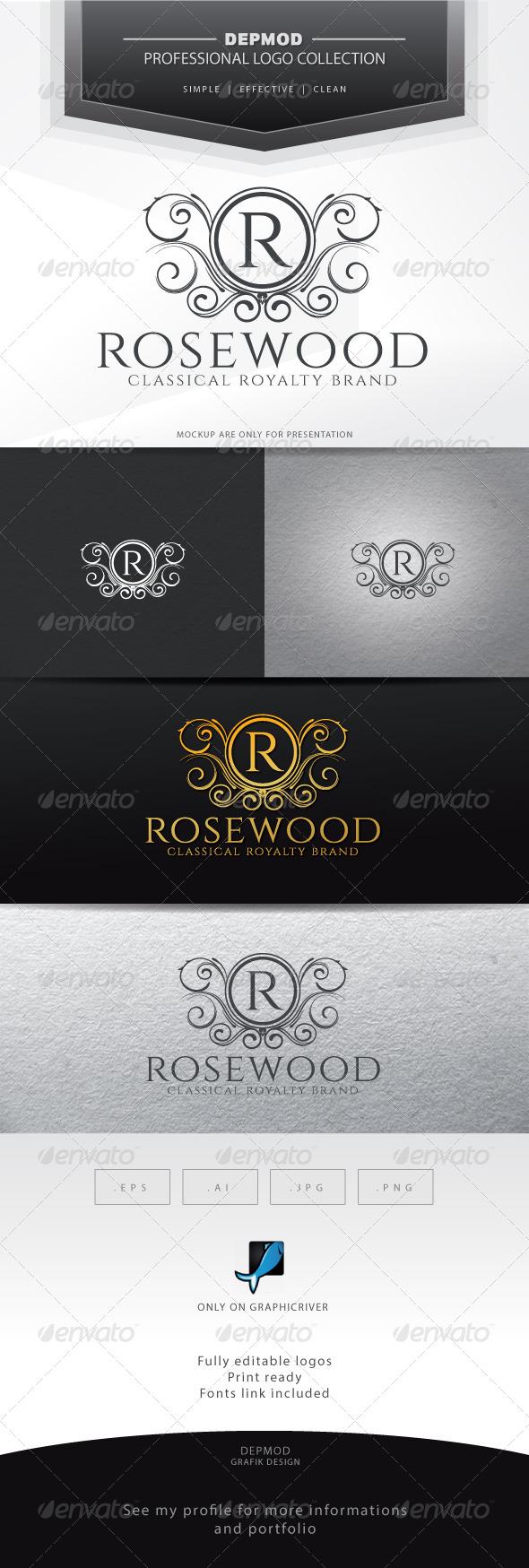 Rosewood Logo - Crests Logo Templates