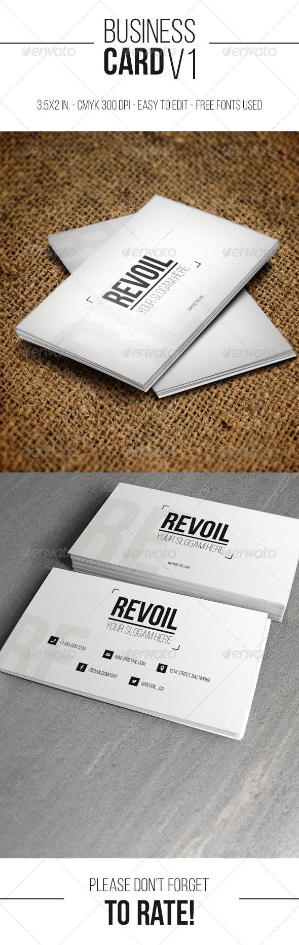 Business Card V1 - Creative Business Cards