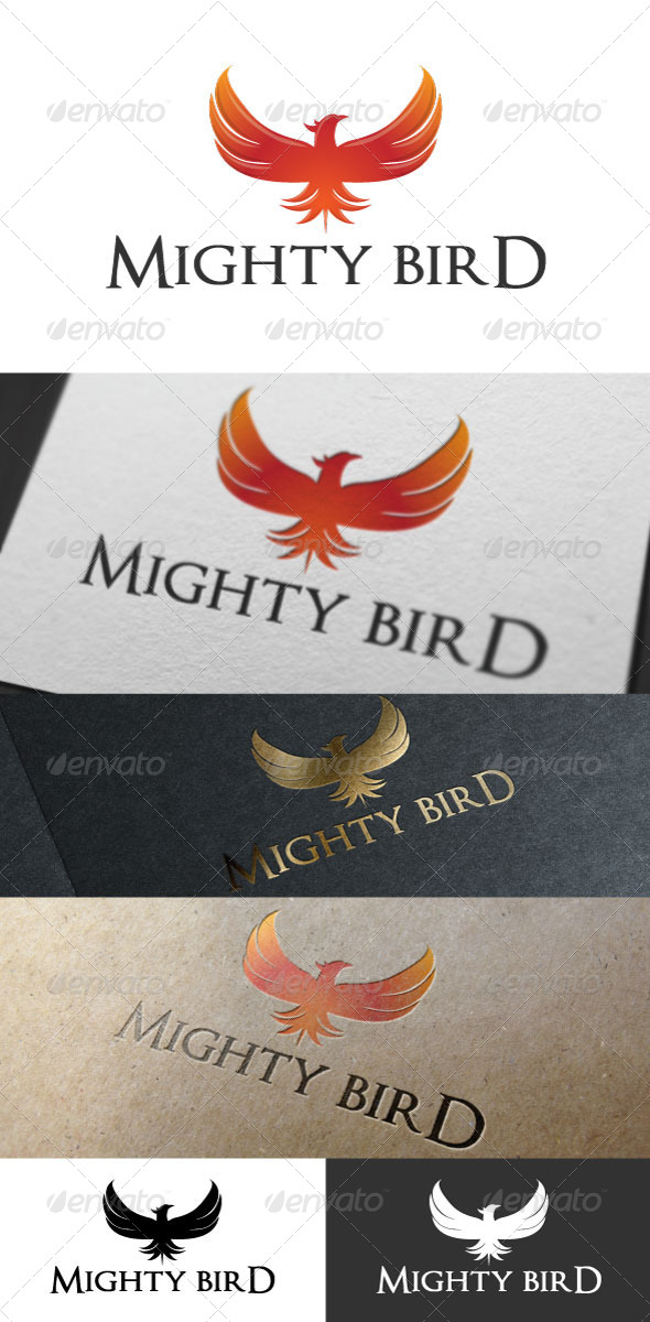 Mighty Bird Logo Template - Logo Templates