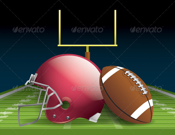 American Football - Sports/Activity Conceptual