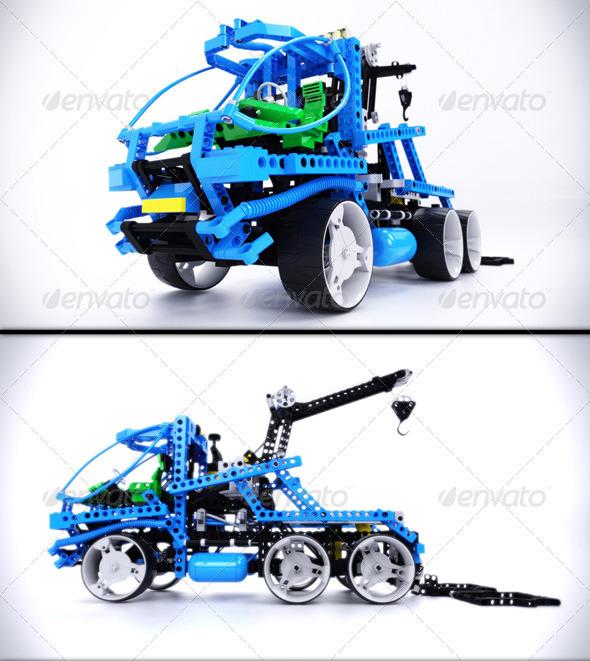 Lego Technic Tow Truck 3d Renders - Objects 3D Renders