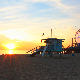 Sunset in Santa Monica Los Angeles  - VideoHive Item for Sale