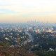 Los Angeles Foggy City  - VideoHive Item for Sale