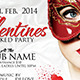 Valentines Masked Party - GraphicRiver Item for Sale