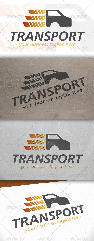 Truck Transport Logo - Objects Logo Templates