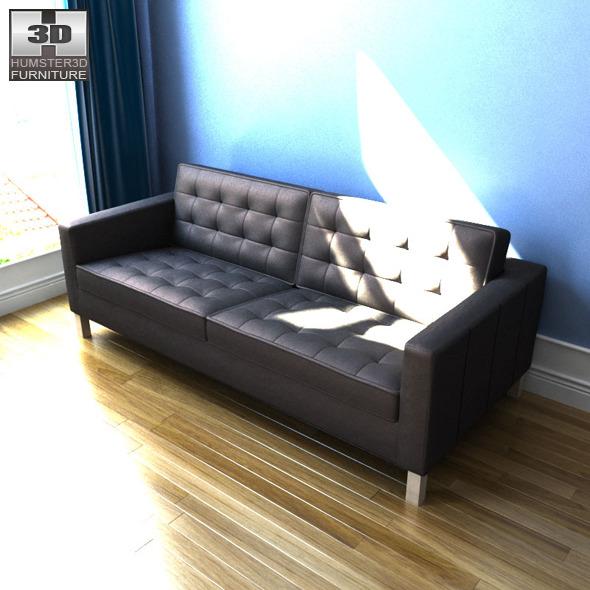 Strange Karlstad Black Leather Sofa Lamtechconsult Wood Chair Design Ideas Lamtechconsultcom