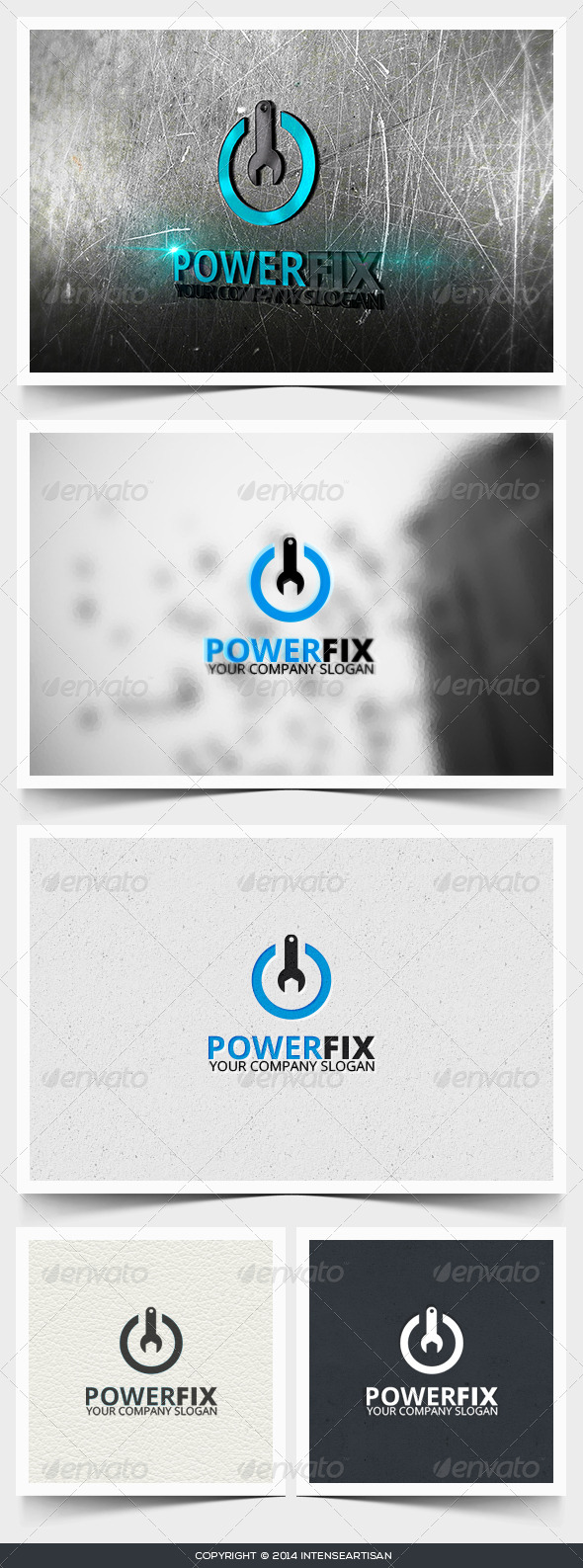 Power Fix Logo Template - Objects Logo Templates