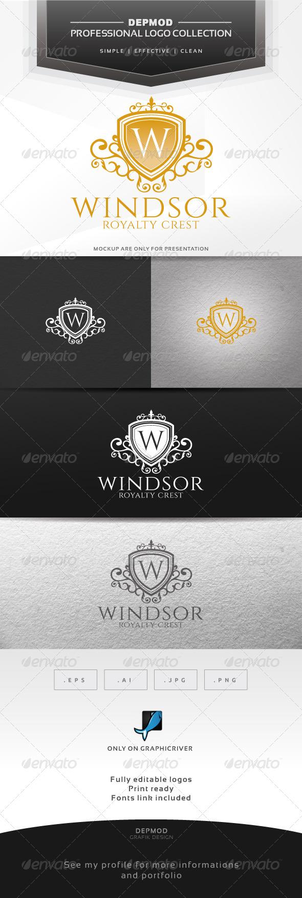 Windsor Logo - Crests Logo Templates