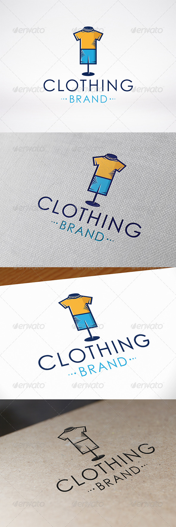 Clothing Logo Template - Objects Logo Templates