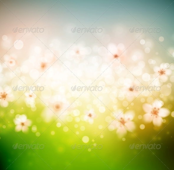 Spring Background - Seasons Nature