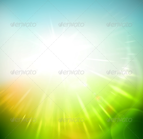 Spring Abstract Background - Seasons Nature