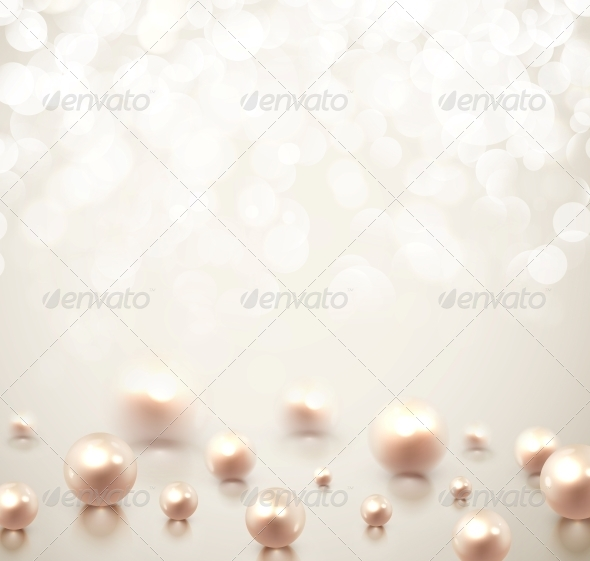 Background with Pearls - Weddings Seasons/Holidays