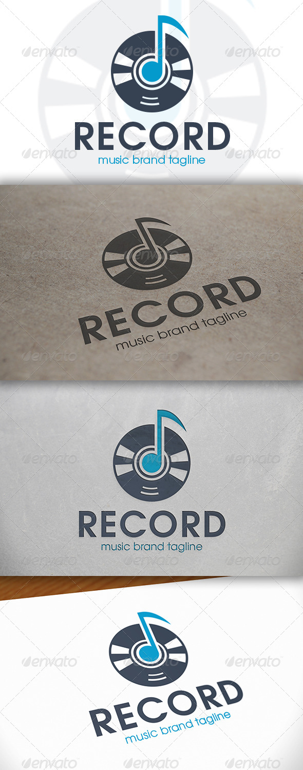 Music Note Logo - Objects Logo Templates