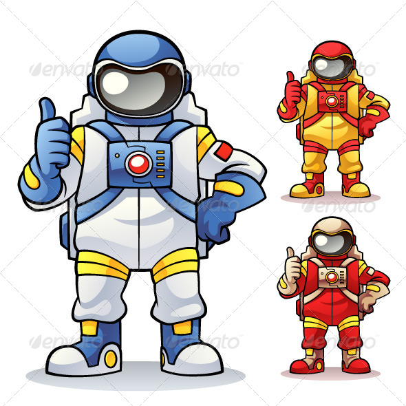 Astronaut - People Characters