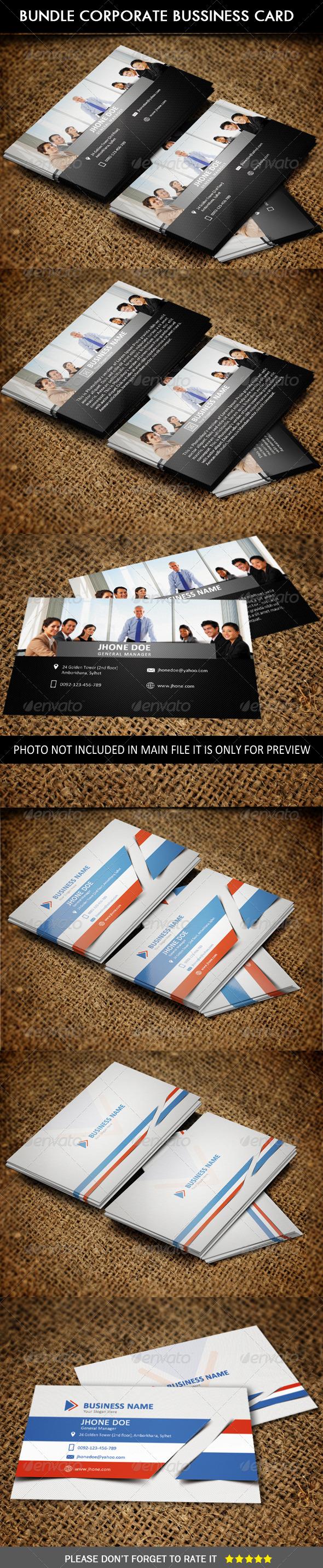 Bundle # Corporate Business Card - Corporate Business Cards