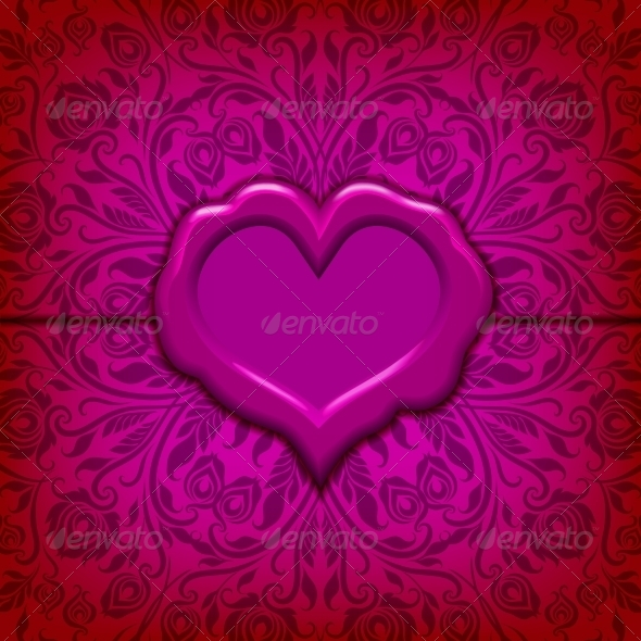 Valentine's Day Vector Background. - Valentines Seasons/Holidays