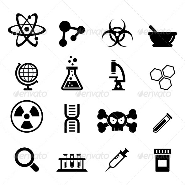 Science Icon - Web Icons